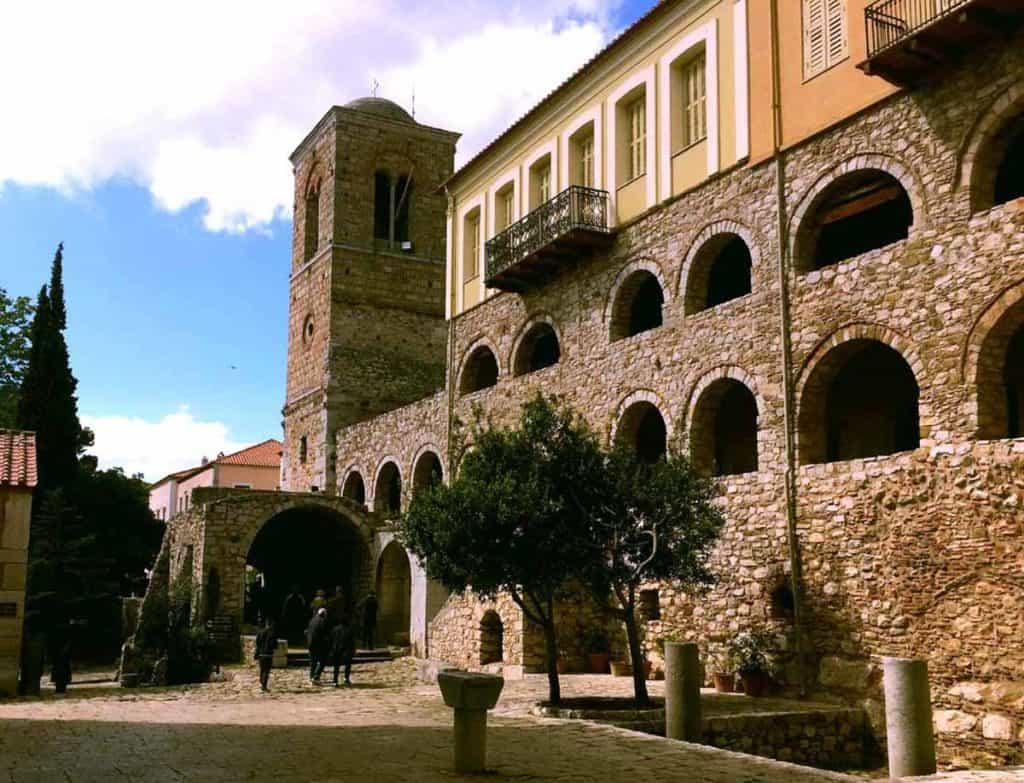 The UNESCO listed Hosios Loukas Monastery is near to Delphi
