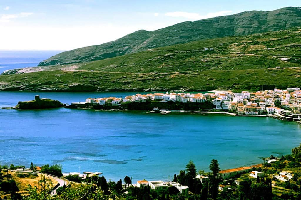 cyclades skippered sailing in andros island