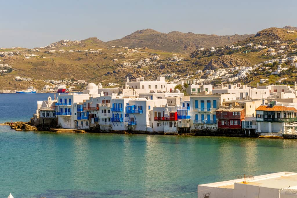 cyclades skippered sailing in mykonos with a view to little venice